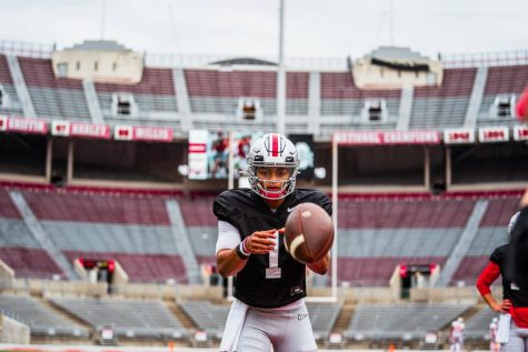Justin Fields returns as the Buckeyes