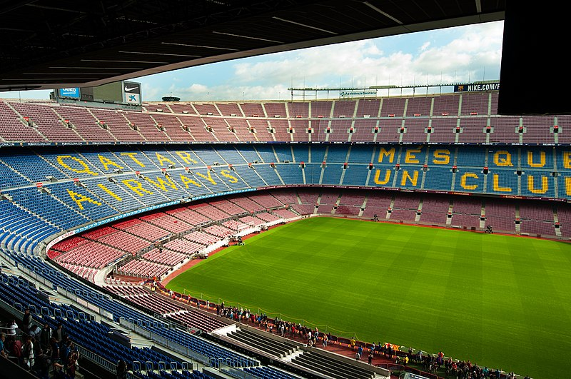 Spanish teacher Phil Deaton admits he's excited to visit Camp Nou Stadium in Barcelona.