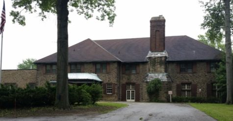 The seventh and eighth grade students are housed in the former Oakwood Country Club building.